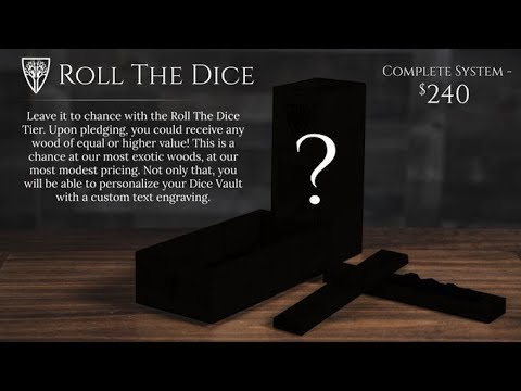 Repeat What's In The Box!?! - Wyrmwood Gaming Dice Tray and Vault