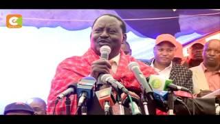 Odinga: umri wangu sio kizuizi