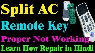 How To Repair Ac Remote Control