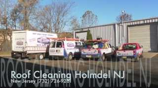 Roof Cleaning in Holmdel NJ 877-420-WASH | Power Washing Holmdel New Jersey
