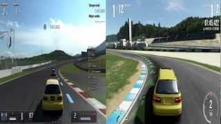 Forzamotorsport 4 & Gran Turismo 5 - GAMEPLAY XBOX360-PS3 HD