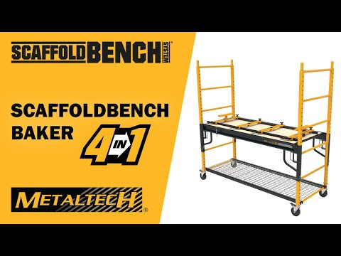 METALTECH Scaffoldbench 4