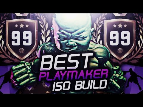 *NEW* GREATEST BUILD😳 SHOT CREATOR! BIRTH OF GREATEST PLAYMAKER N NBA2K18! ATTRIBUTE & BADGE UPDATE