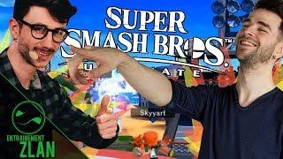 Skyyart et Ponce sur Super Smash Bros. Ultimate - Entrainement ZLAN #2