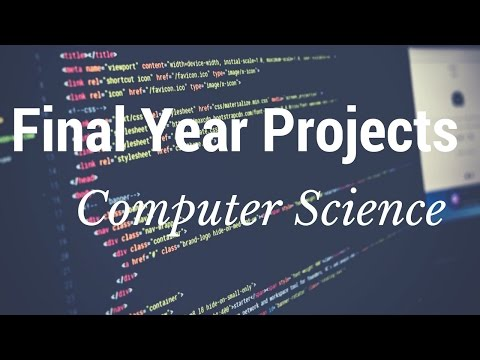 Computer Science Final Year Projects