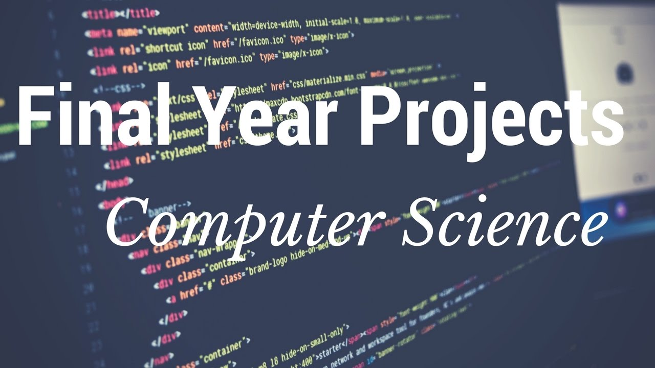 Latest computer science projects ideas for engineering students.