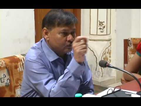bikaner collector vedprakash in meeting