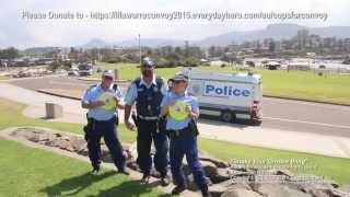NSW Police 'Shake Their Groove Thing' for Camp Quality