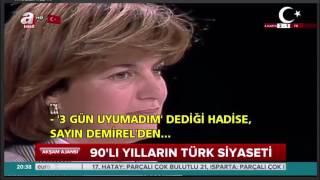 1995'te DYP'li Başbakan Tansu Çiller ile ANAP Genel Başkanı Mesut Yılmaz'ın tartışması