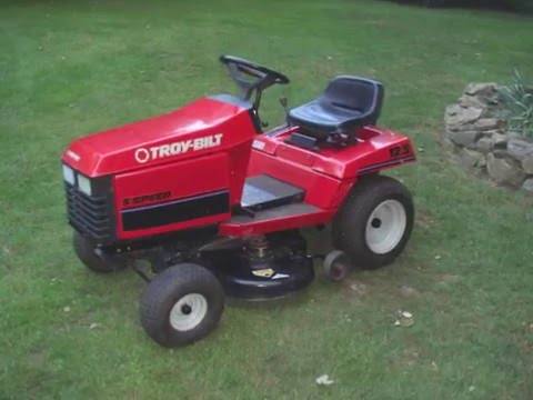 Early 90s Troy Bilt 12 5hp 36 5 Sd Lawn Tractor Garden Way Era You
