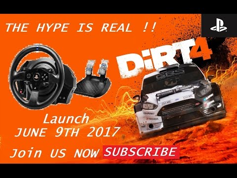 DIRT 4 HYPE IS REAL - DIRT 3 revisited PC !!