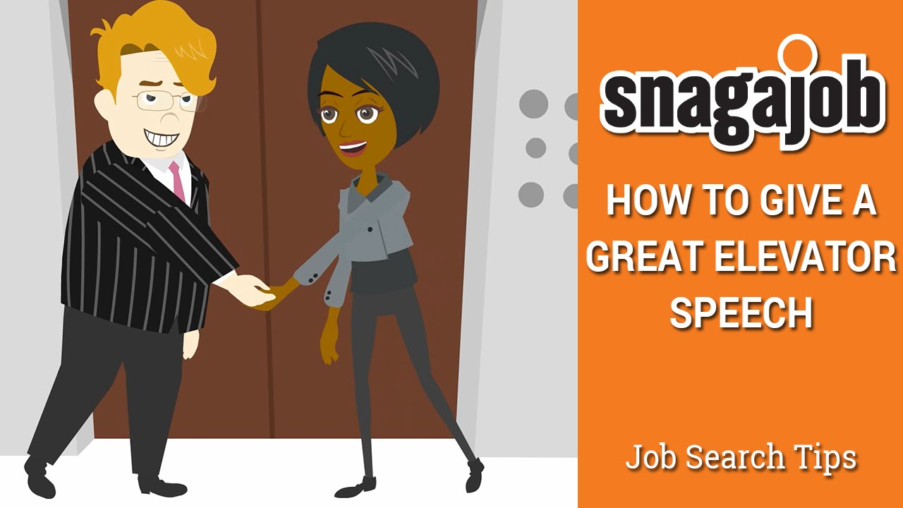 Job Search Tips (Part 12): How To Give A Great Elevator Pitch   YouTube