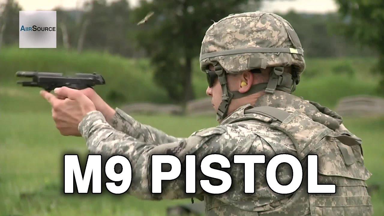 M9 Pistol Firing Range Army Reserve Best Warrior