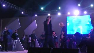 Bohemia challenging Honey Singh live at Aranya 2k13 Thapar Univeristy-Patiala