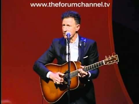 Lyle Lovett sings