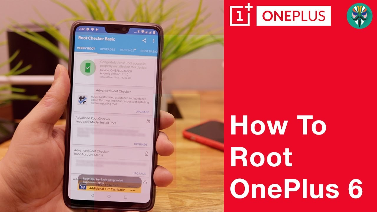 OnePlus 6 | How to Root | Install Magisk Without Custom Recovery