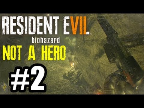 Resident Evil 7 Not A Hero DLC PS4 #2 - GAS GAS GAS