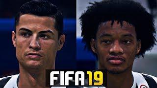 FIFA 19 Juventus Players New Faces Ft . Ronaldo , Dybala 4K