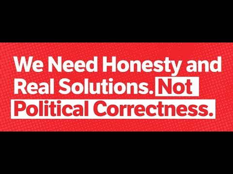 The Biggest Disease Today Political Correctness! (3 minutes)