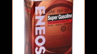 Моторное масло ENEOS Super Gasoline, 5W30 SM, 4 л, синтетическое