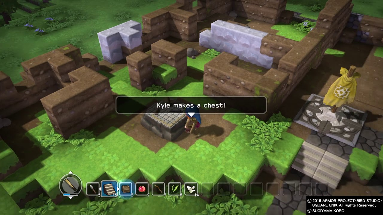 Dragon quest builders pippas blueprint 2 youtube dragon quest builders pippas blueprint 2 malvernweather Images
