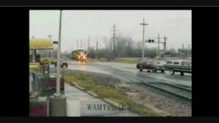 Destroyed in Seconds - Railroad Crossing Carnage