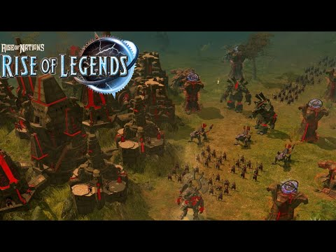 Rise of Legends - Cuotl Gameplay Ancient Aztecs! - Rise of N
