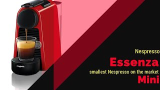 Nespresso Essenza mini red