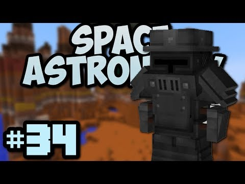 Minecraft- Space Astronomy [34] Best Armor In The Game?