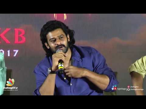 Prabhas about his next two movies after 'Baahubali : The Conclusion'