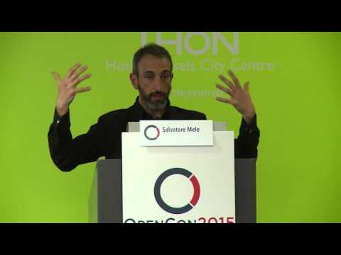 Open Science in High-Energy Physics - Salvatore Mele at OpenCon