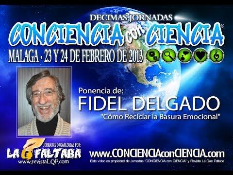 """Fidel Delgado presenta """"Cómo Reciclar la Basura Emocional"""""""
