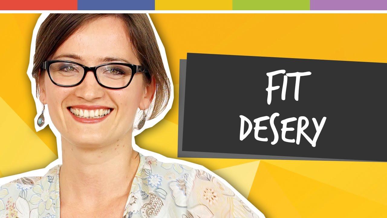 Jak dbać o linię - desery w wersji fit
