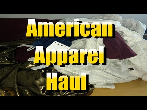 Bin Pickers- American Apparel Haul from Goodwill, Men's Stuff & Chatting about Wholesale Lots