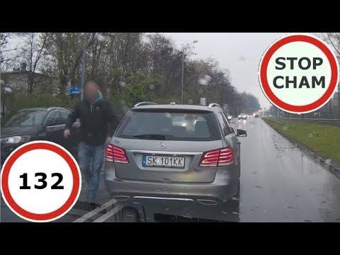 Stop Cham #132 – Niebezpieczne i chamskie sytuacje na drogach