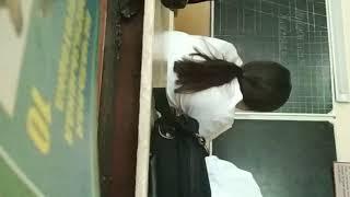 Как проходят уроки в одной из школ Ташкента.
