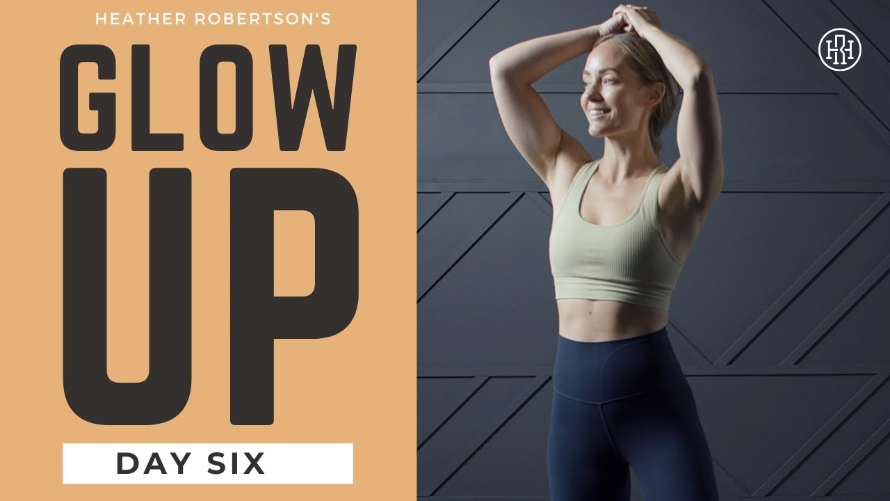 ⭐GLOW UP CHALLENGE // Day 6: Total Body SHRED Strength & Cardio Supersets Workout