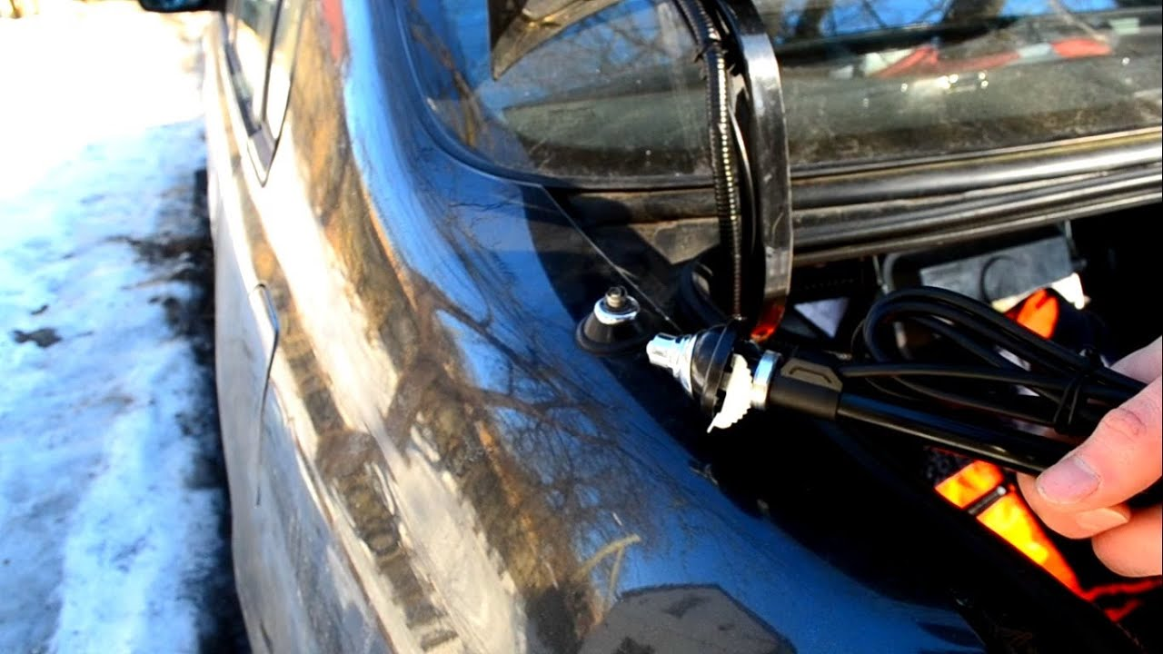 small resolution of a car antenna removing installing replacement
