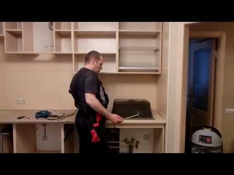 Сборка кухни для чайников, часть 5 установка техники