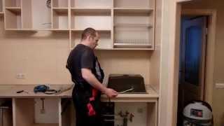 Сборка кухни для чайников, часть 5 установка техники(, 2014-12-13T12:52:16.000Z)
