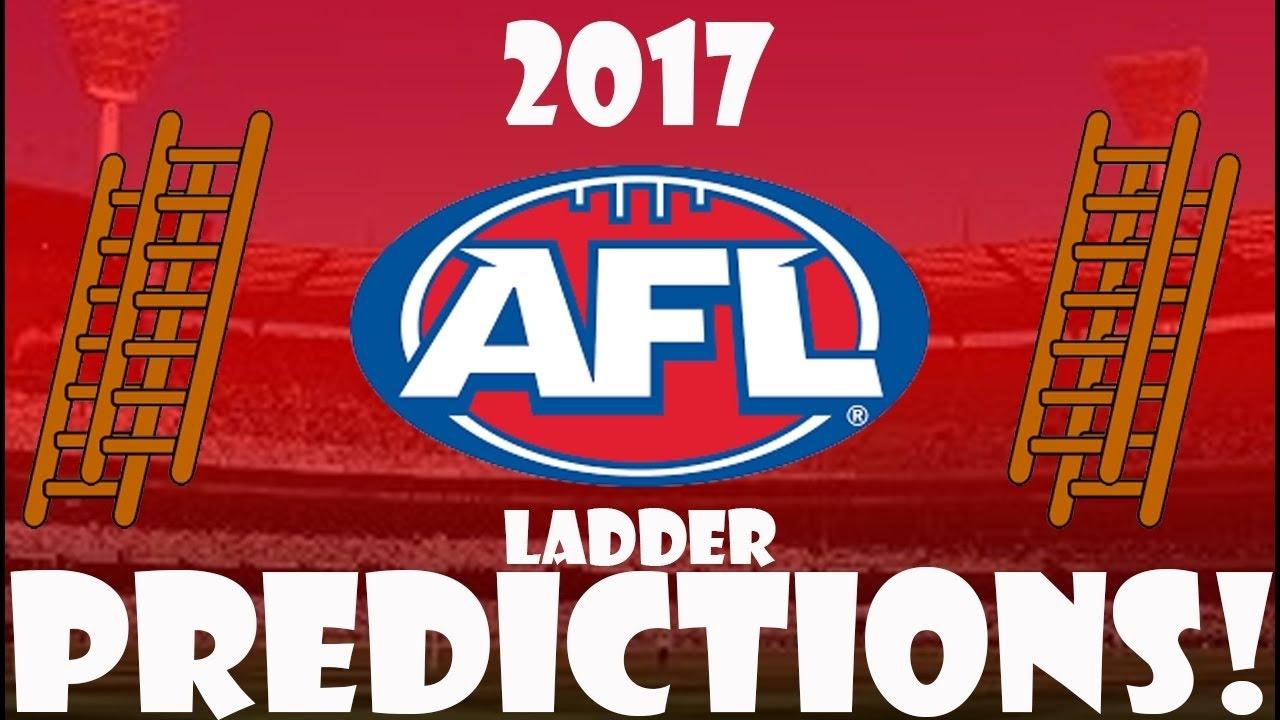 2017 AFL Ladder Prediction Finals