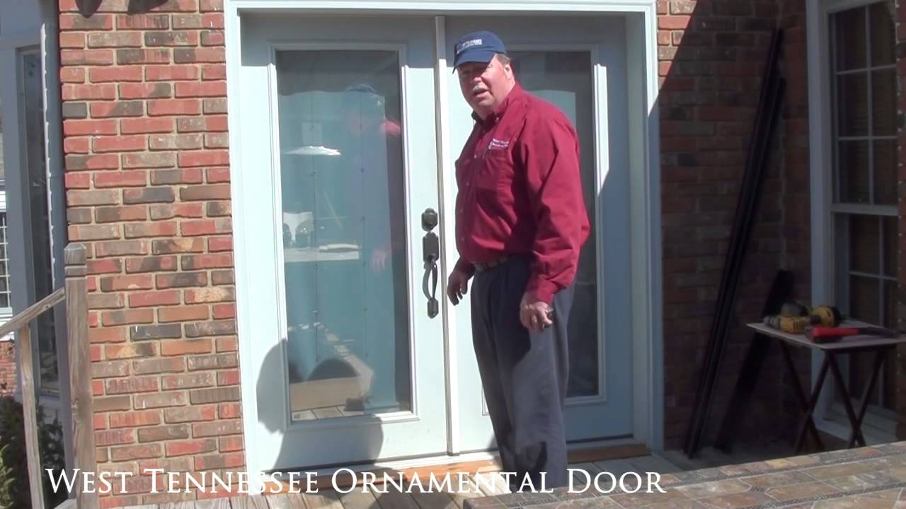 How To Measure For A New Double Security Storm Door West Tennessee Ornamental