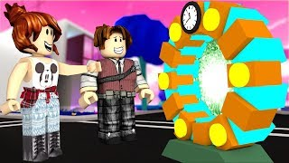 TIME TRAVEL TRACK / ROBLOX Time Travel Obby / ROBLOX English