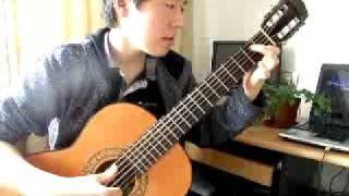 Bilguun's Performance - Classic guitar theme