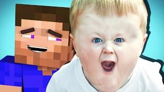 ТРОЛЛЮ ГРИФЕРА НА СЕРВЕРЕ МАЙНКРАФТ! ОН В ШОКЕ! Minecraft Троллинг!