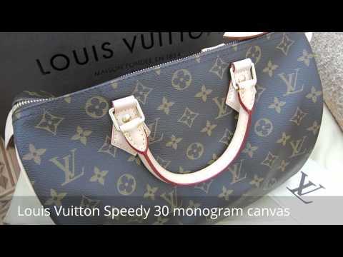 bb0a1d0daef9 Смотреть видео Новая сумка Louis Vuitton Speedy 30 онлайн, скачать на  мобильный.