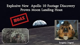 Explosive New  Apollo 10 Footage Discovery Proves Moon Landing Hoax ★★★