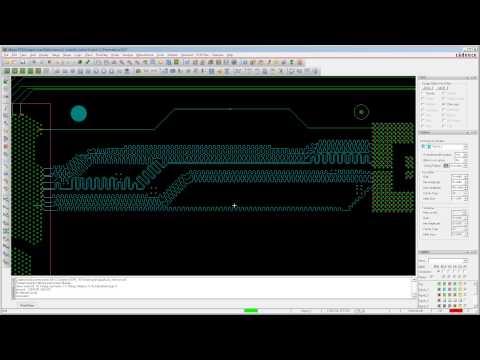 Auto interactive Delay Tune med OrCAD / Allegro PCB Editor 16.6