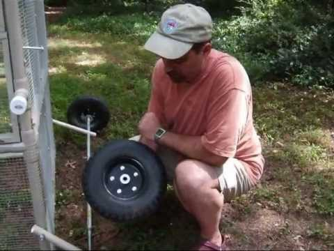 How To Raise Chickens Putting Your Coop On Wheels Youtube