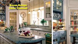 Country Kitchen Decorating Ideas - Vintage Kitchen Decorating Ideas, Retro Kitchen Design Ideas